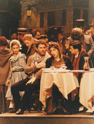 Carlo Striuli ne La Bohème con Fiamma Izzo D'Amico al Teatro Carlo Felice di Genova
