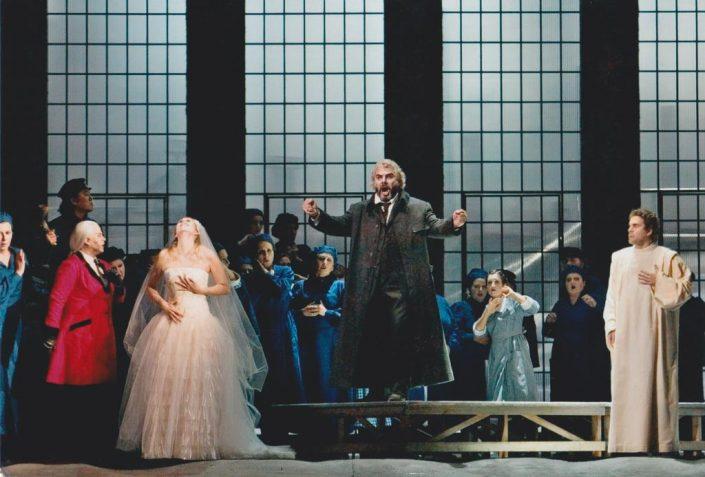 Carlo Striuli nel ruolo di Sintram, i cavalieri di ekebù al Teatro Lirico G. Verdi di Trieste